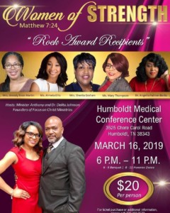 Women of Strength Hosted by Focus on Christ Ministries @ Humboldt Medical Conference Center