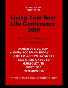 Living Your Best Life Conference @ Humboldt General Hospital Conference Area