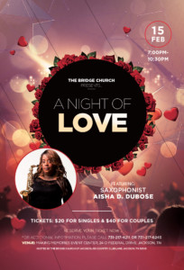 A Night of Love with Aisha DuBose @ Making Memories Event Center