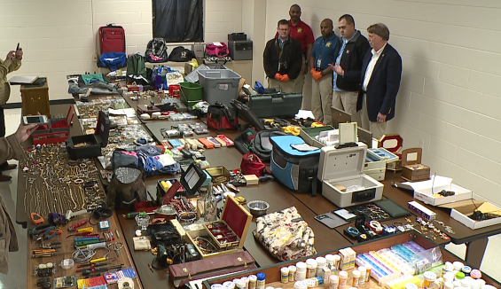 Madison County Sheriff's Department recovers stolen items