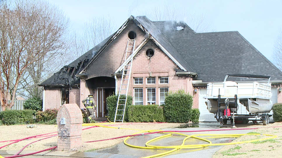 Home in Three Destroyed by fire