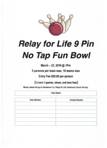 9 Pin No Tap Fun Bowl @ 10-Pins Bowling & Billiards