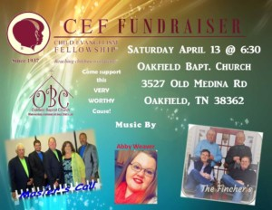 Gospel Singing CEF Benefit @ Oakfield Baptist Church