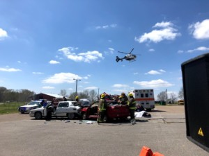 Mock Crash at Gibson County High School @ Gibson County High School