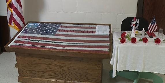 Local veterans organization unveils WWII memorabilia display