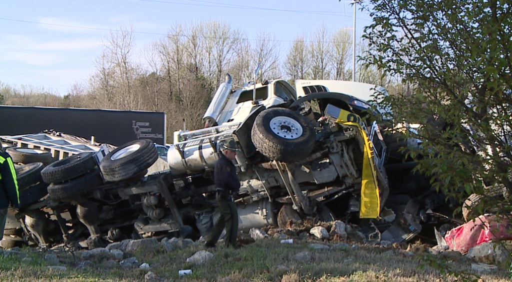 Truck drivers involved in I-40 crash recount surviving wreck