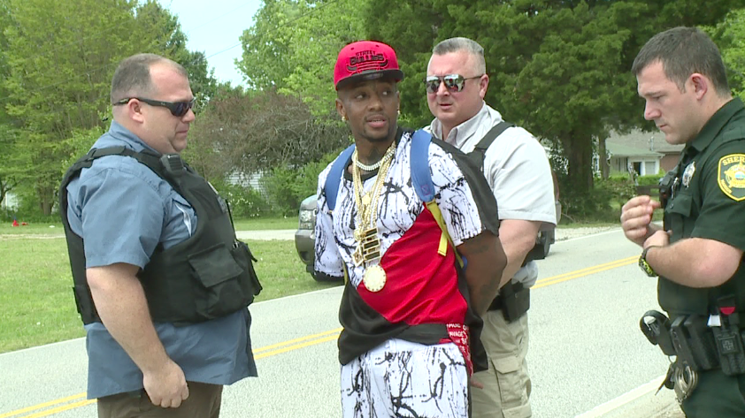 Madison Co  shooting suspect turns self in after calling