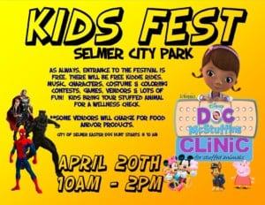 Kids Fest @ Selmer City Park