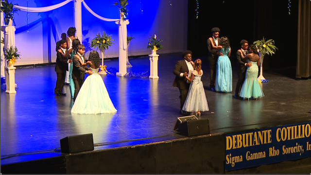 Local girls participate in Debutante Scholarship Pageant