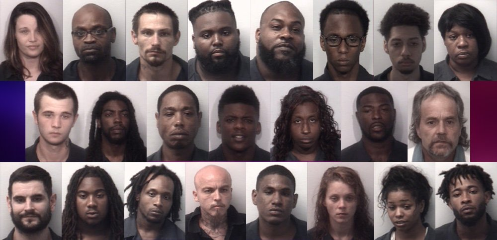 33 arrested in multi-agency operation in Jackson-Madison County