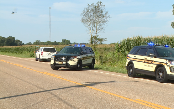 UPDATE: Suspect in custody after chase in Carroll County