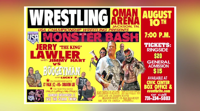 USA Championship Wrestling event to be held in Hub City