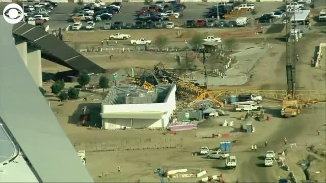 Crane Collapse California
