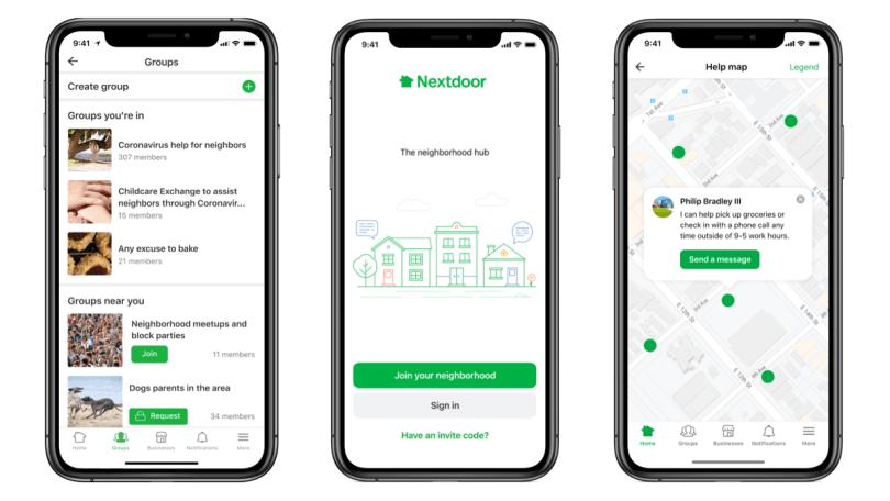 Nextdoor Help App Pic 1