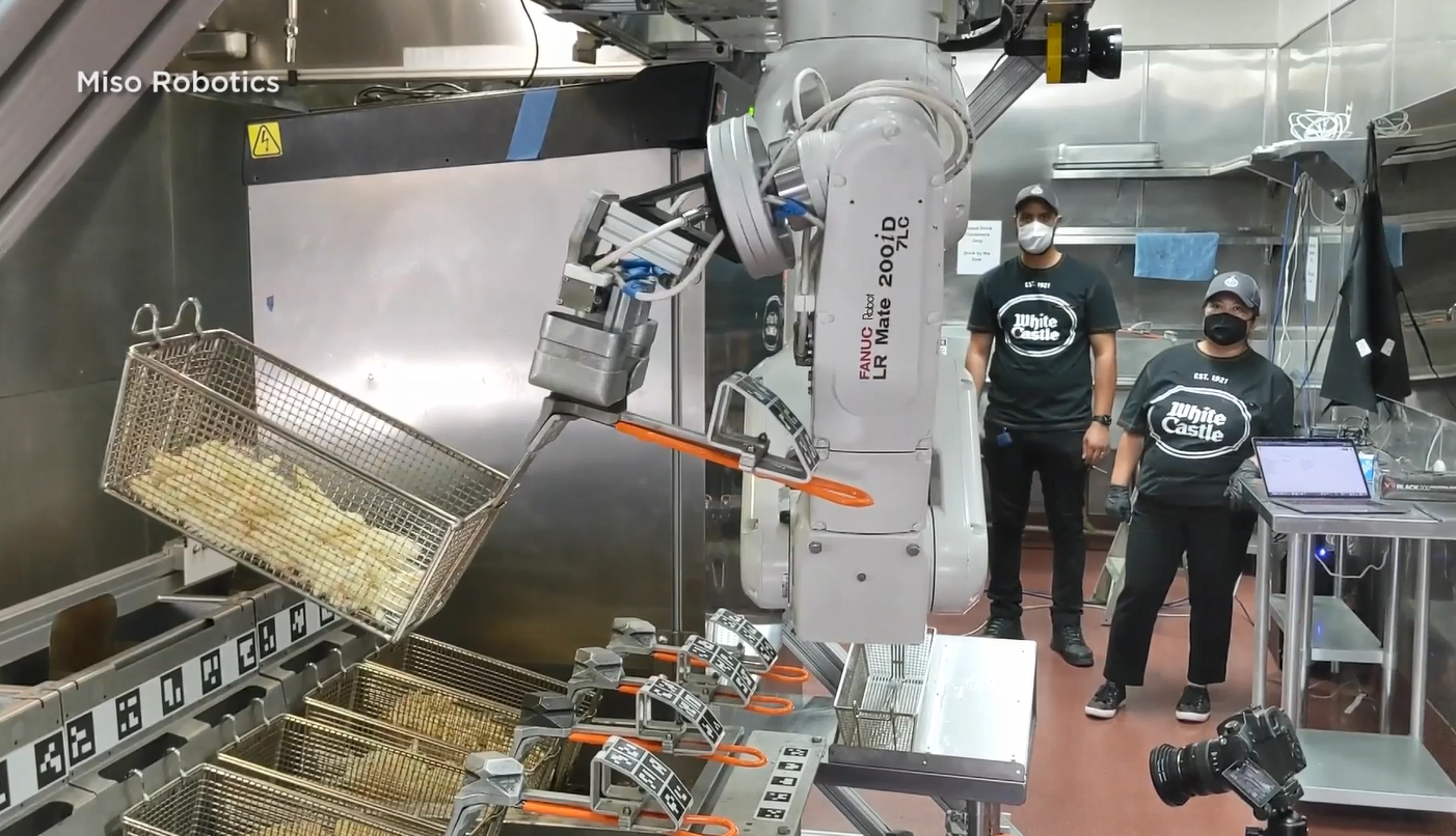 Fast food restaurants test 'food robots' to limit exposure