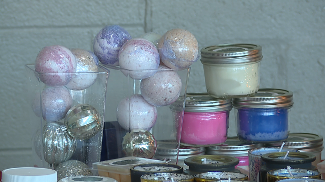 Bath Bombs And Candles