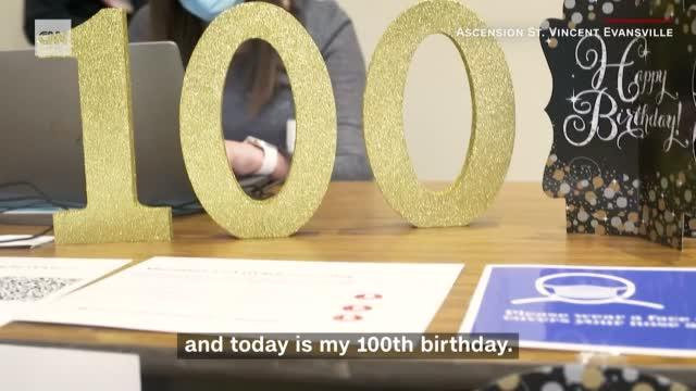 100 Yr Old Bday Present