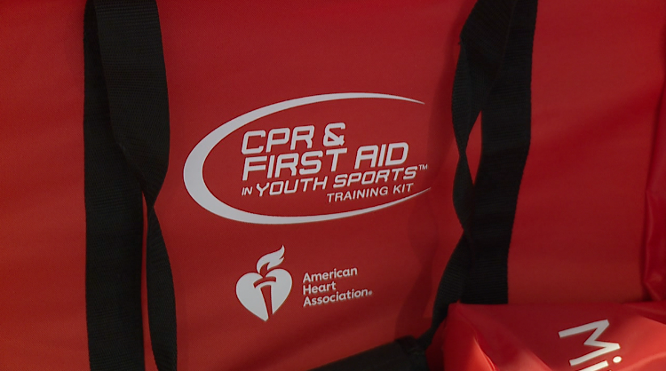 Cpr And First Aid In Youth Sports Training Kit From The American Heart Association 1