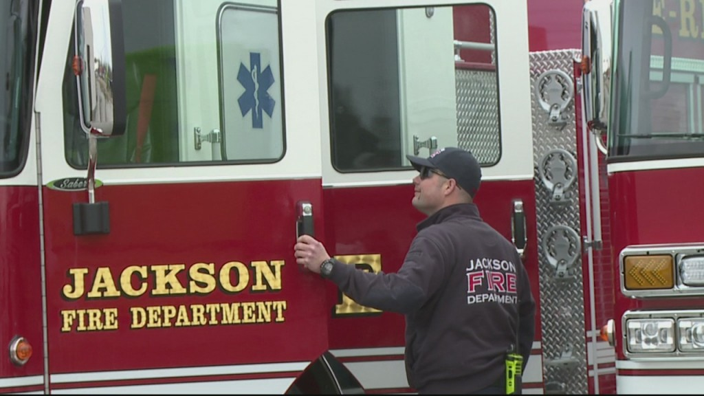 Jackson Fire Trucks 5pm Vosot