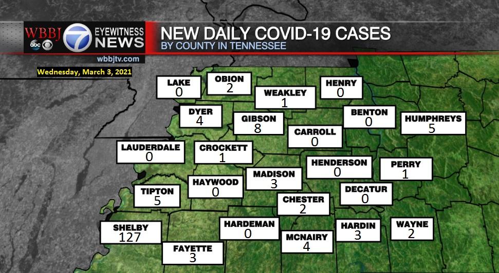 Covid Map 030321