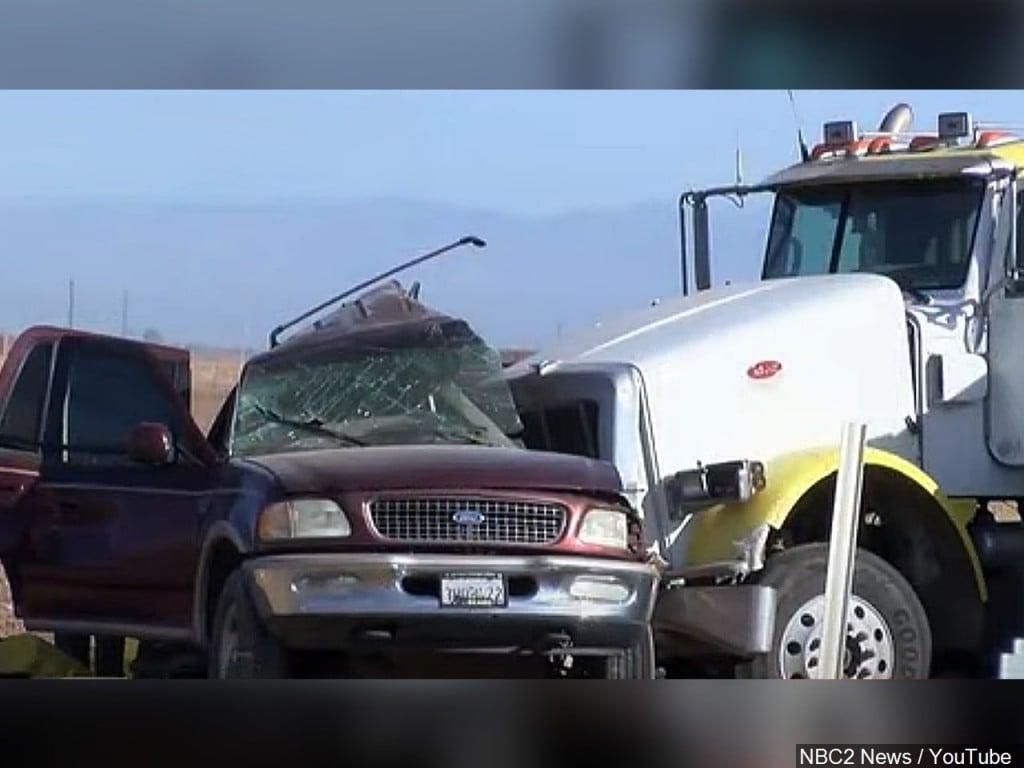 Fatal Crash In California