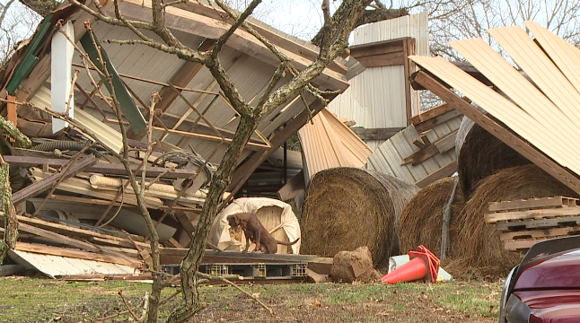 Tornado Damage From Carroll County