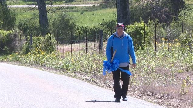 Brantley Smith Walks 80 Miles 2