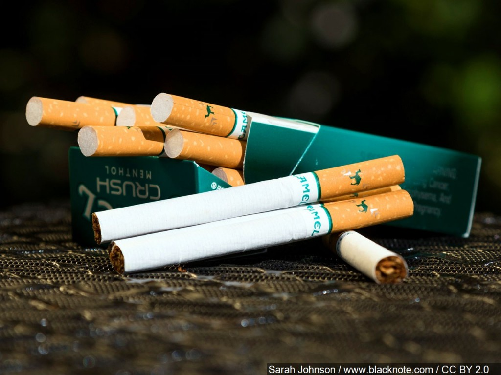 ban menthol cigarettes