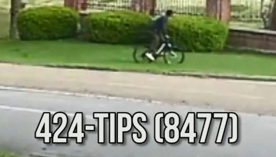 Crime Stoppers Bike Thief