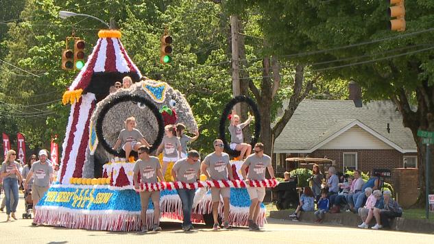 83rd Annual Strawberry Festival Junior Floats Parade 3
