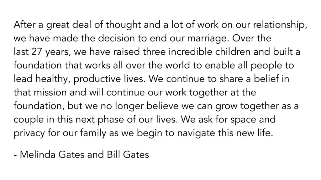 Bill Gates Tweet