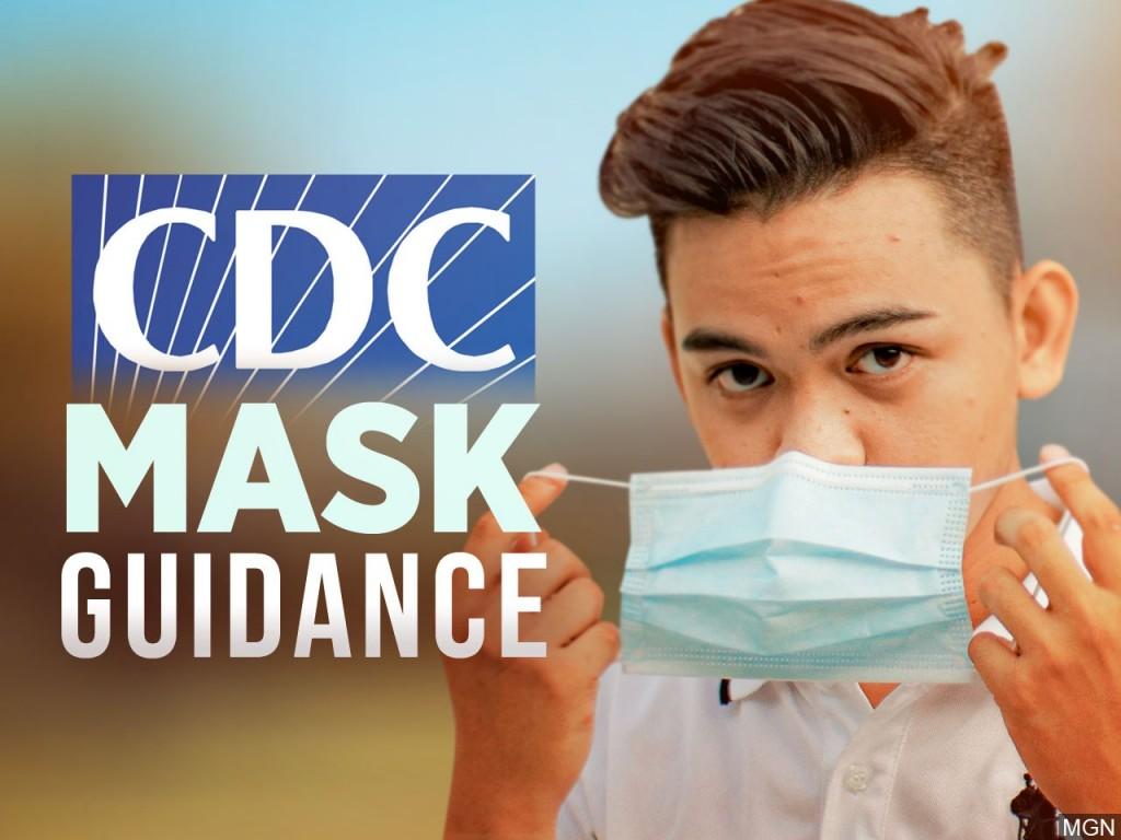 Cdc Mask Guidance