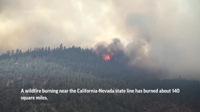 Wildfires Torch Homes, Land Across 10 States In Us West