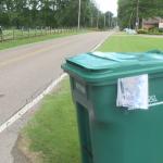 Waste Management Delivers New Gabage Cans 071221 2