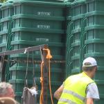 Waste Management Delivers New Gabage Cans 071221 3