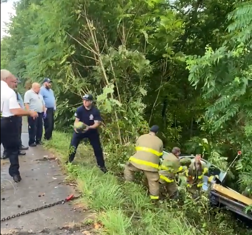First Responders Pull Out Fruit 071221