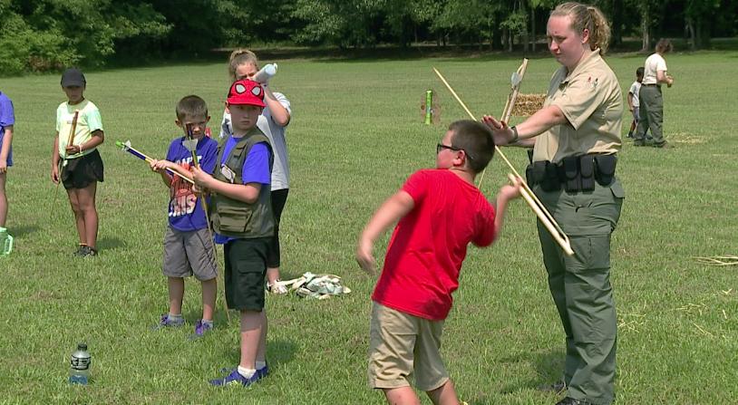 Pinson Mounds Hosts Junior Ranger Camp 3