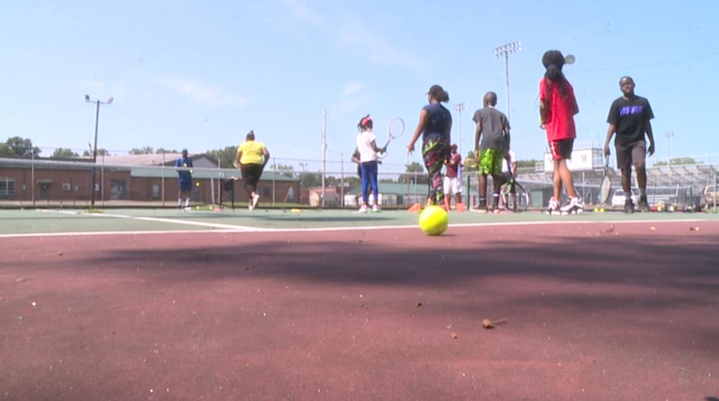 Bolivar Native Teaches Tennis Camp 070621 2