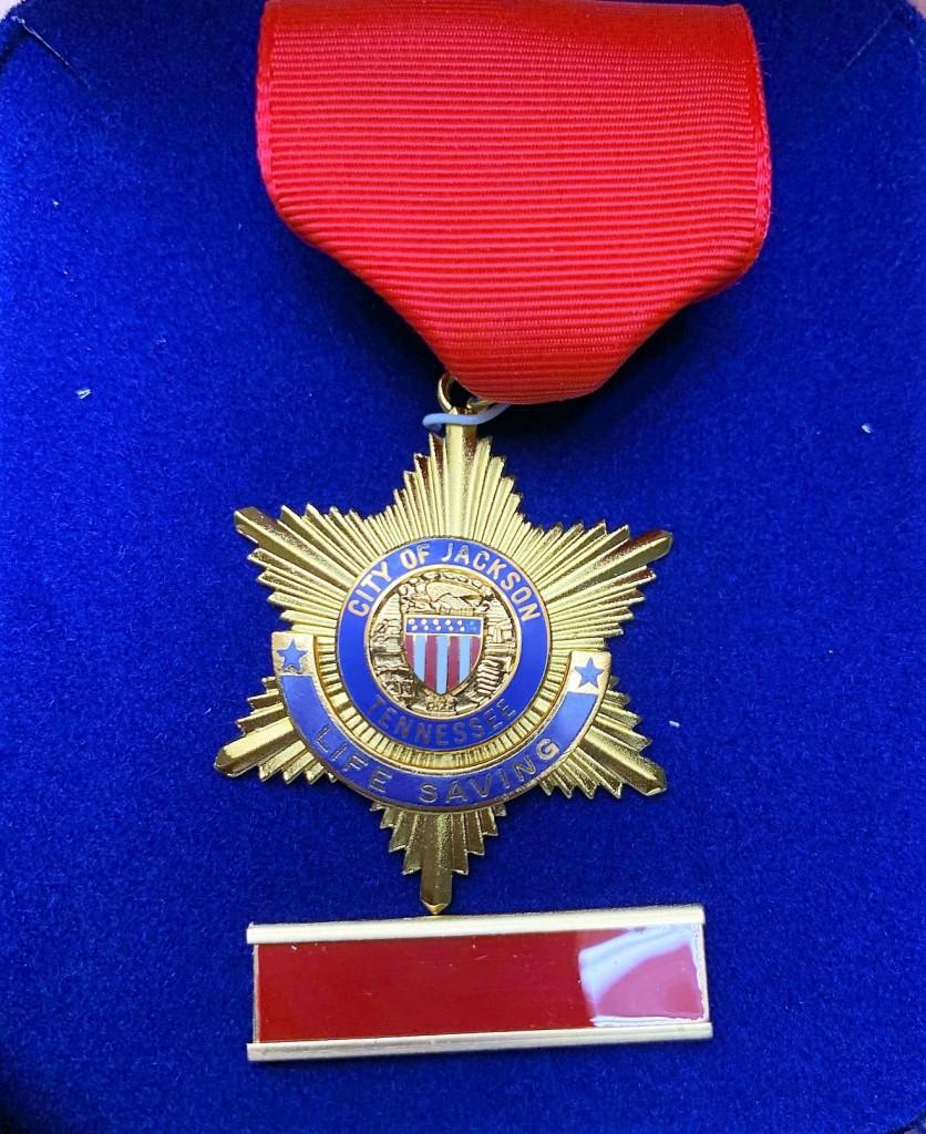 Lifesaving Medal 3