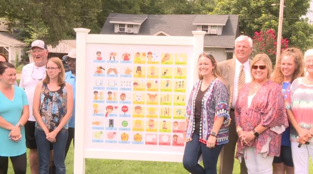 Trenton Elementary Adds Board To Playground 072621 1