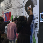 Mural Painting At The Ned 1