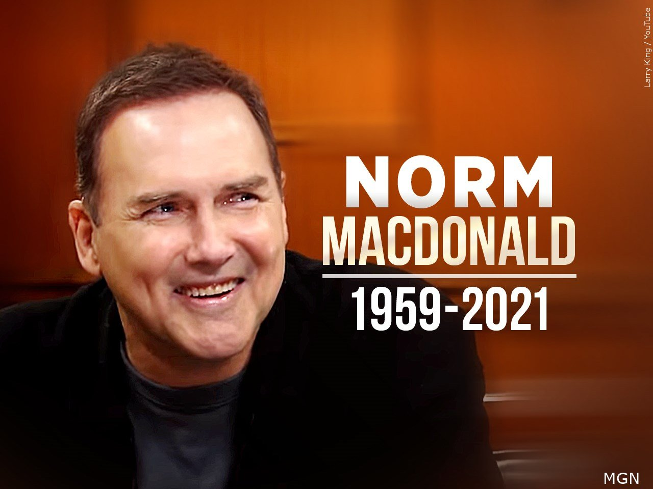 Norm Macdonald, former 'Saturday Night Live' comic, dies ...