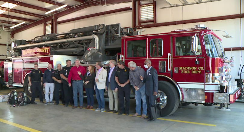 Madison County Fire Donation 4