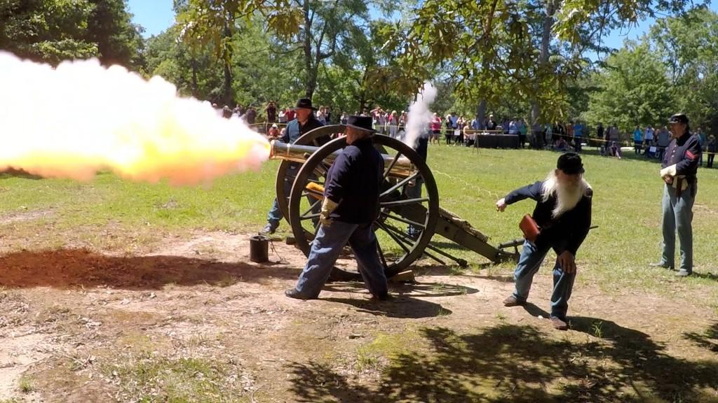Union Cannon Fire 2 Nps Photo