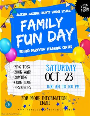 Copy Of Family Fun Day Flyer