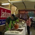Ed Jackson At Fundraiser 1