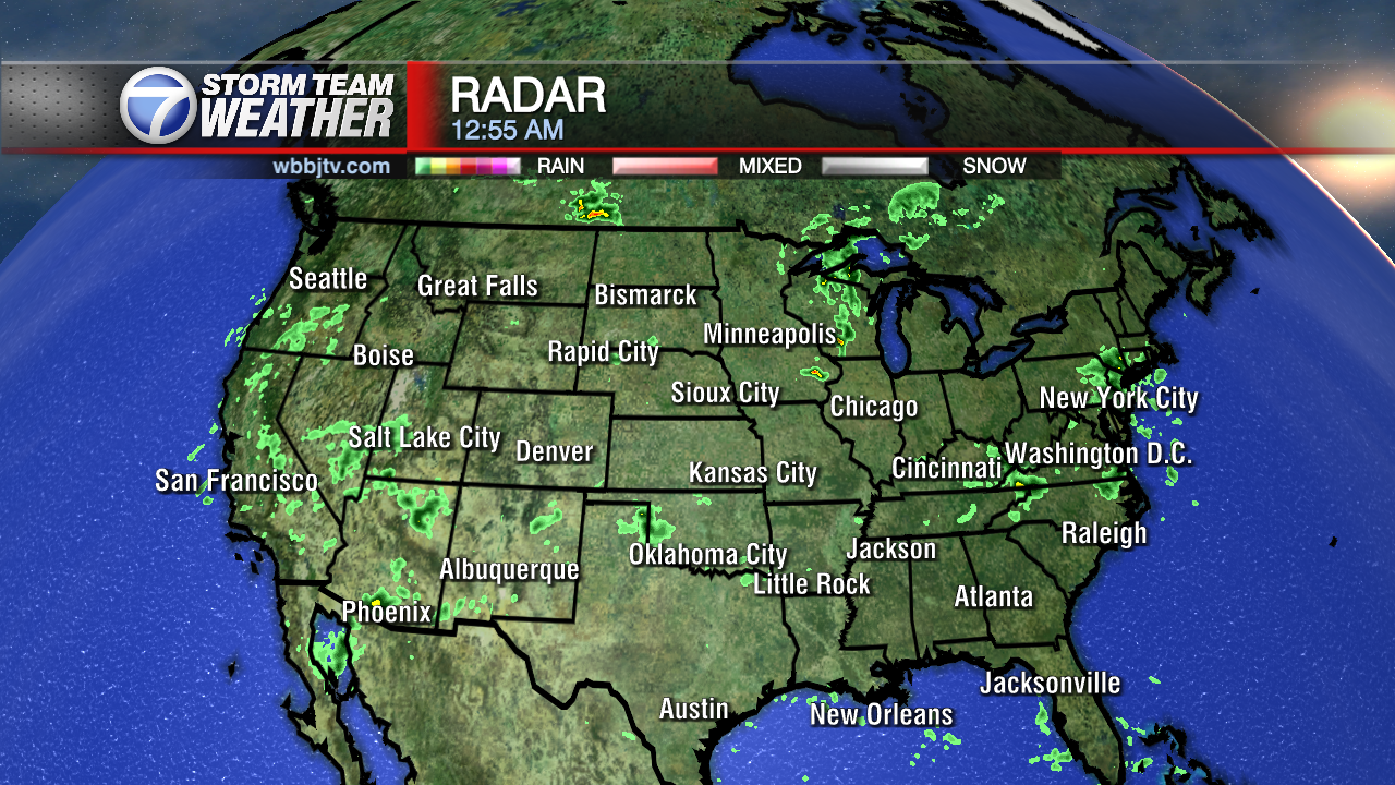 Weather Map Usa Radar Us Weather Map For Tomorrow North America - Us map weather radar