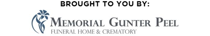 Back In 2 Sponsors Memorial Gunter Peel