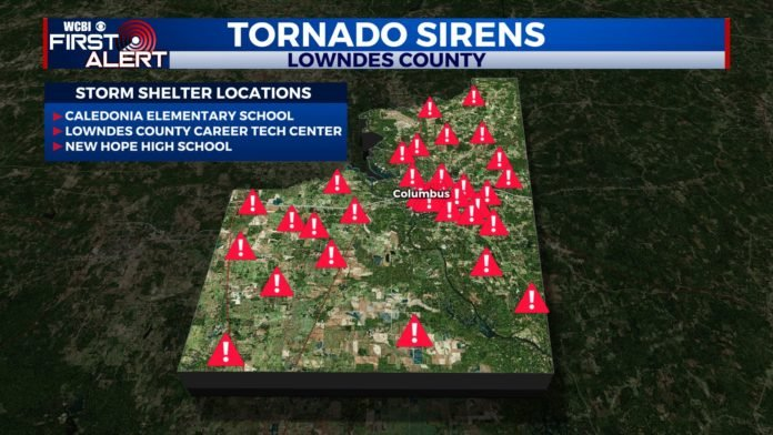 Lowndes County Siren Map Shelters 696x392