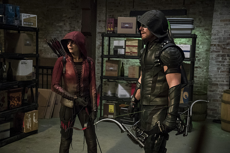 """Arrow -- """"The Candidate"""""""